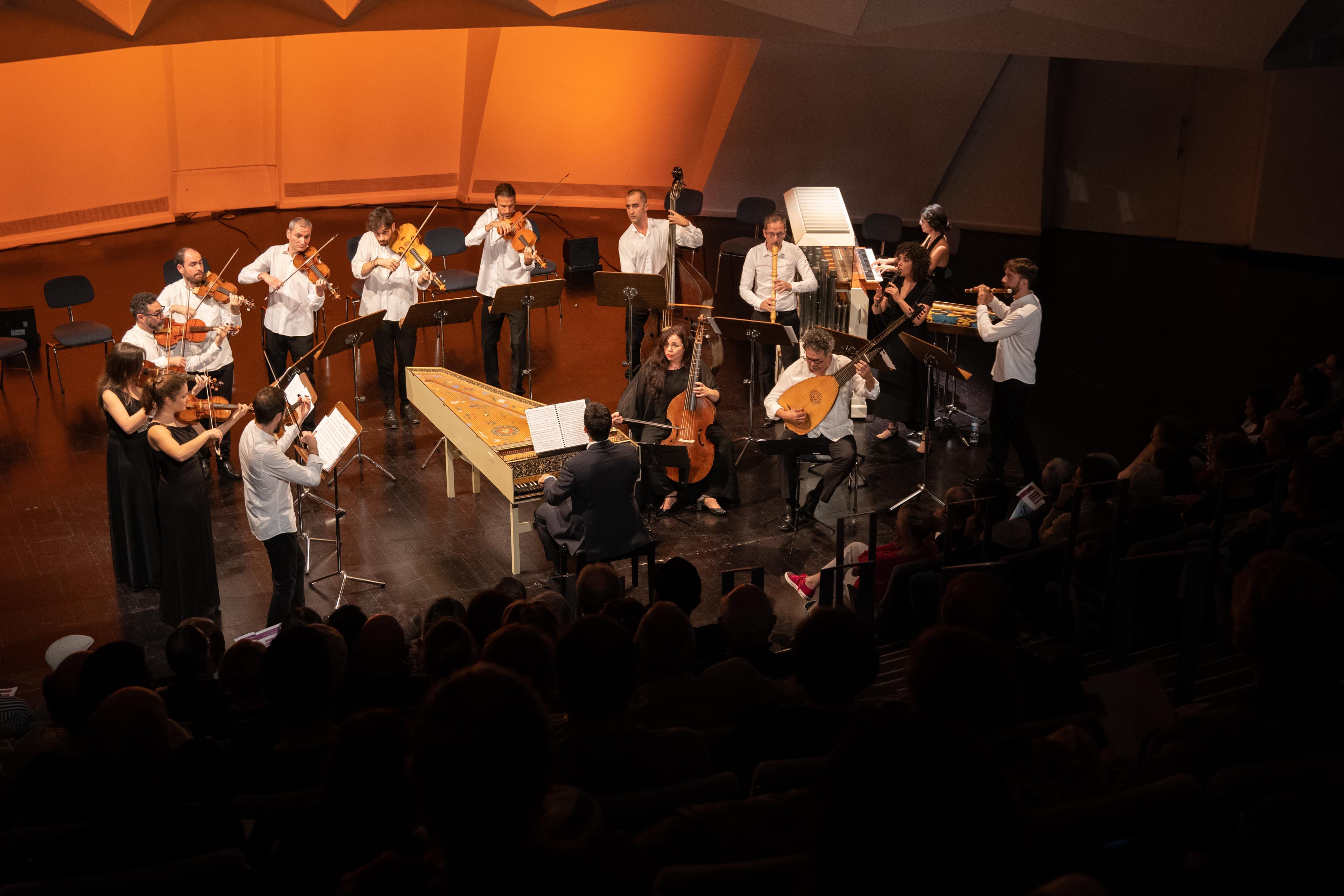 La Orquesta Barroca de Tenerife y sus peculiares instrumentos de música antigua llegan a Lanzarote