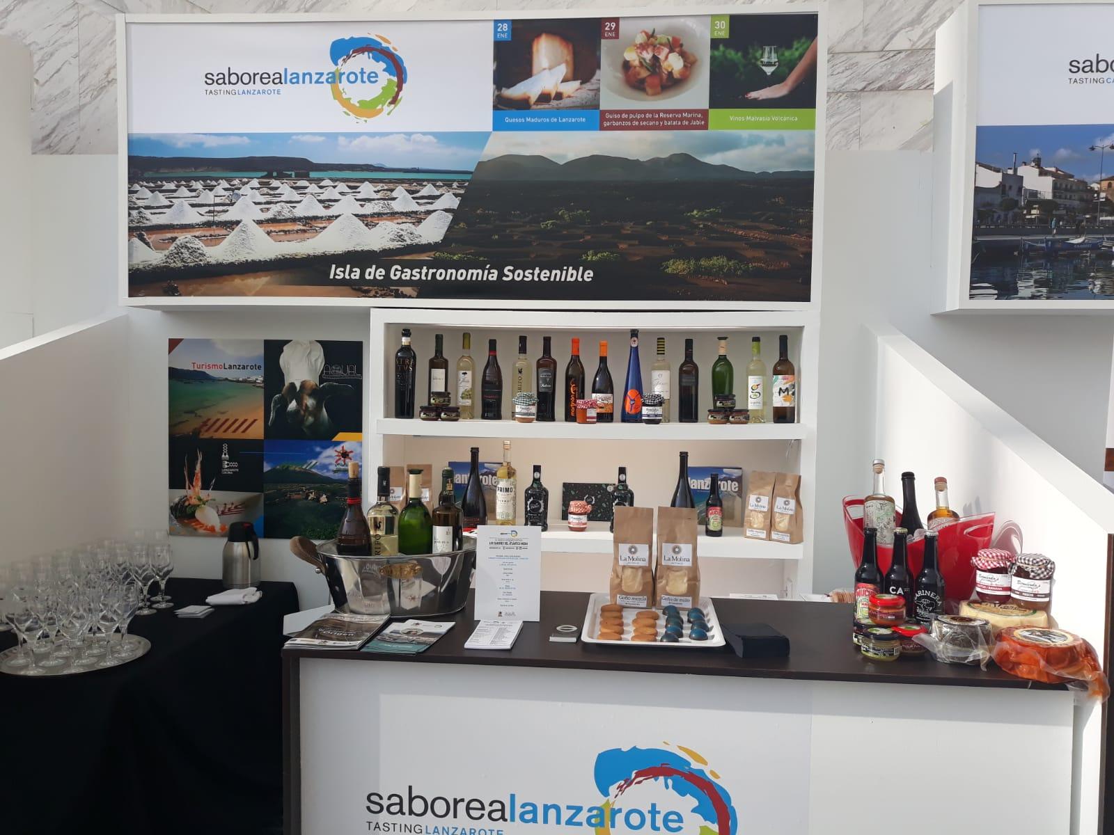 Madrid Fusión se impregna de los aromas y sabores de la enogastronomía lanzaroteña