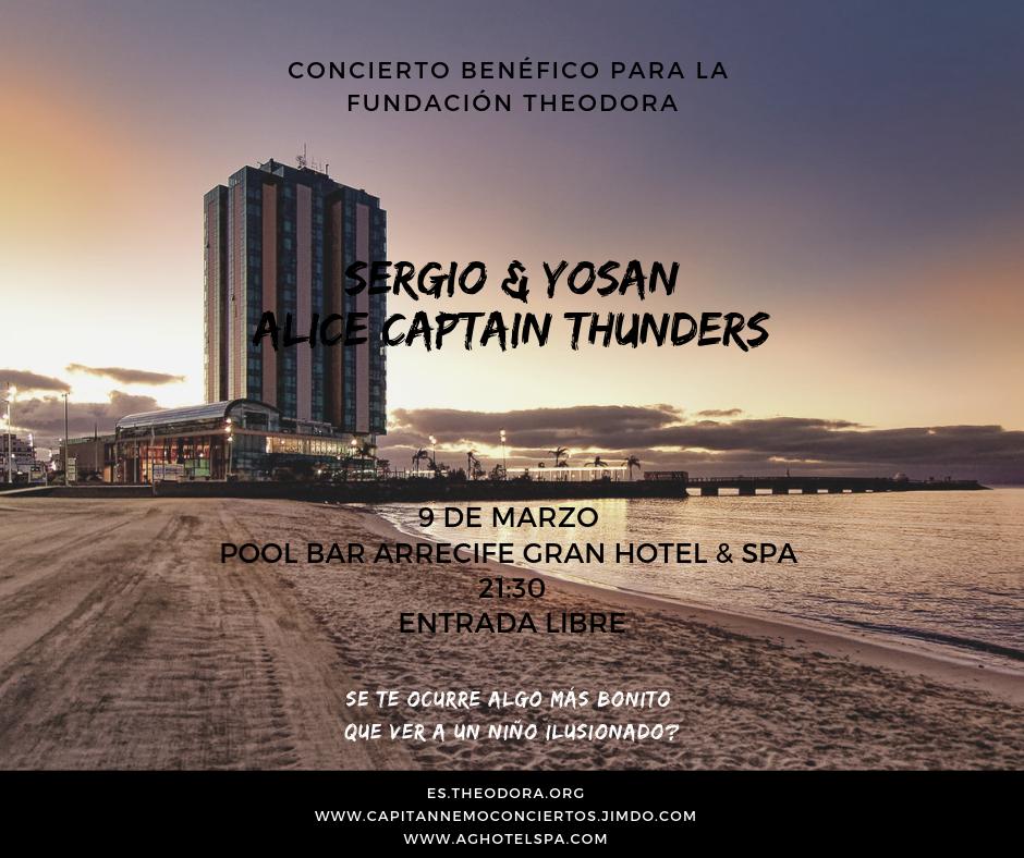 Concierto solidario a favor de la Fundación Theodora en el Arrecife Gran Hotel & Spa