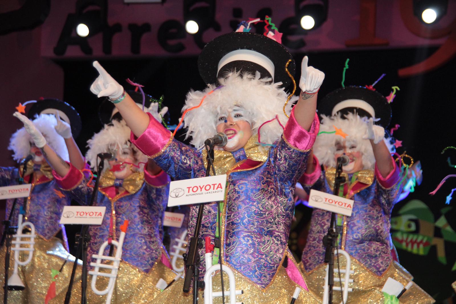 Ironía y originalidad en la primera fase del Concurso de Murgas del Carnaval de Arrecife