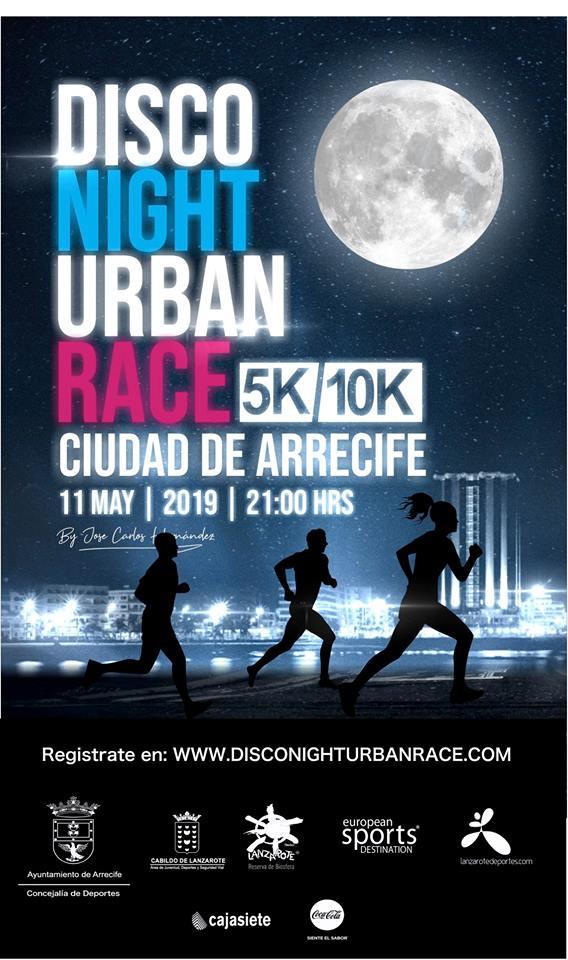La VII Disco Night Urban Race 'Ciudad de Arrecife' calienta motores