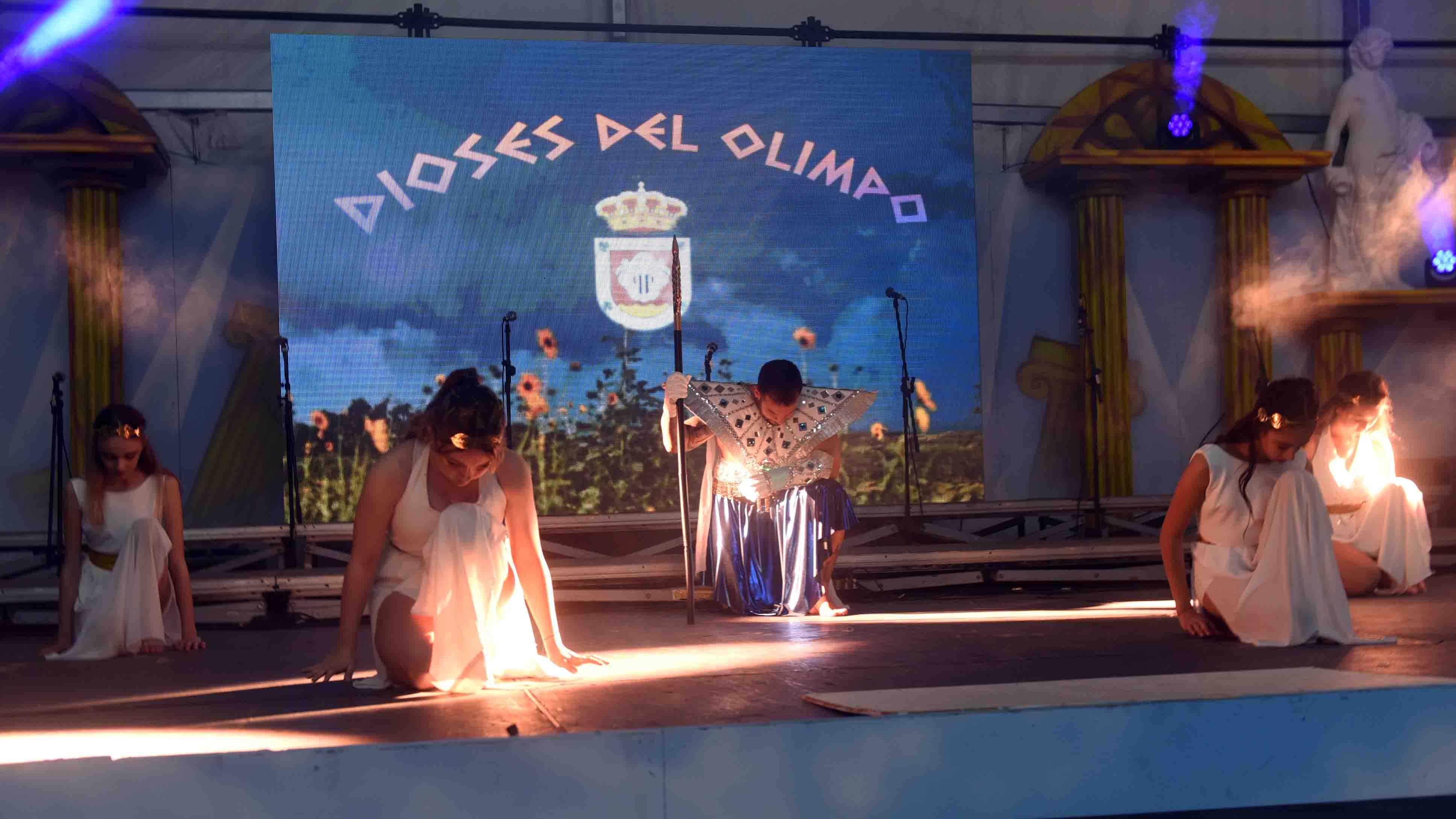 Arrancó el Carnaval Dioses del Olimpo de San Bartolomé con el acto de presentación de las Agrupaciones carnavaleras del municipio