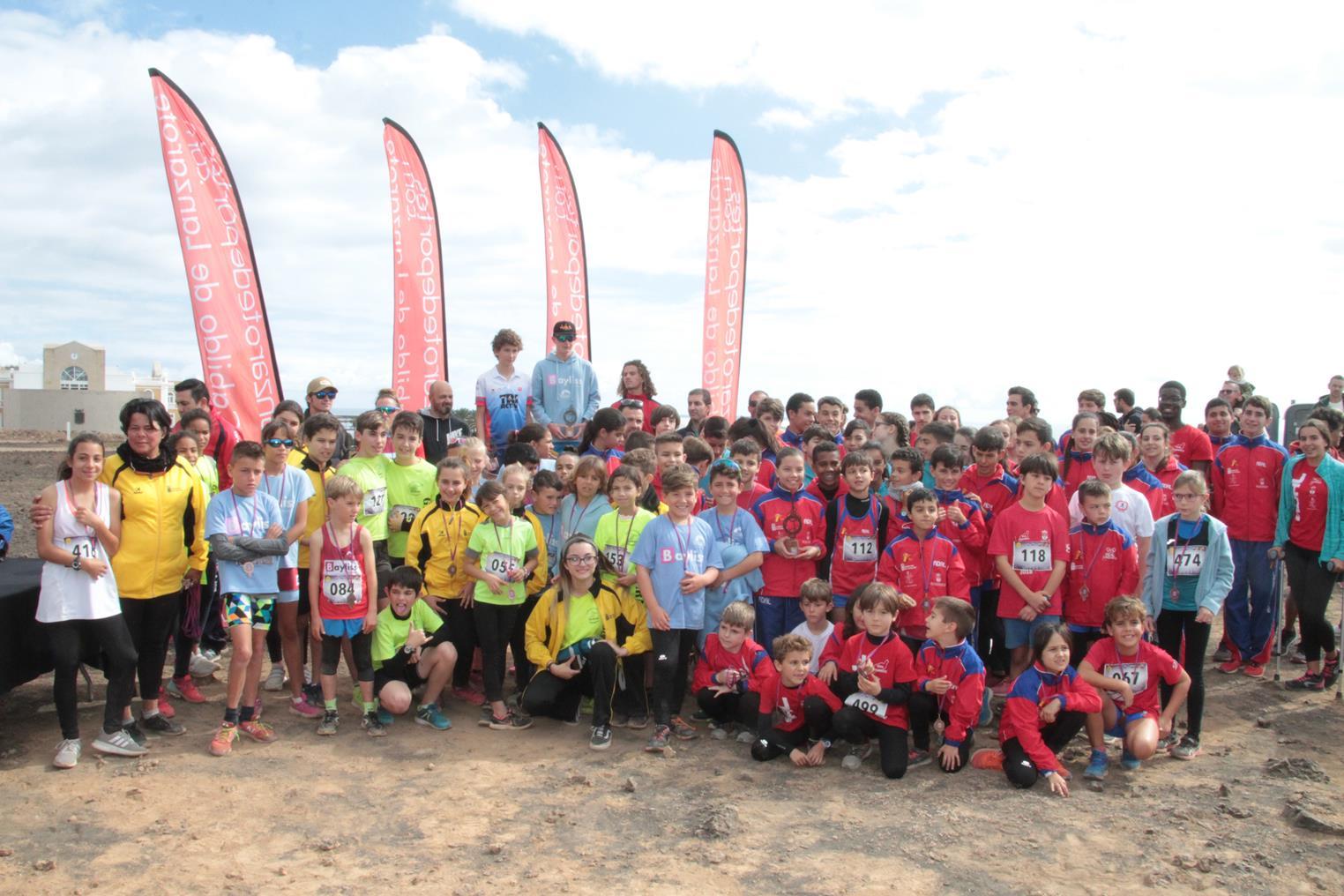 Concluye la competición de Campo a Través de los XXX Juegos Insulares de Promoción Deportiva, que tuvo más de 270 participantes