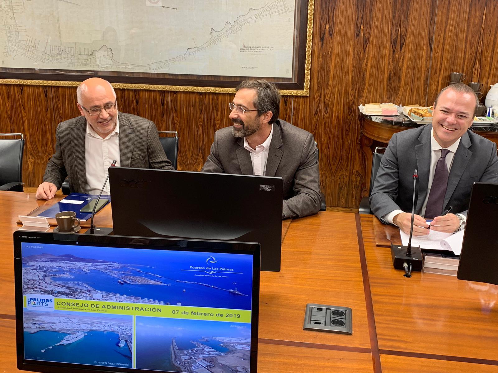La Autoridad Portuaria de Las Palmas apruebael convenio para la construcción de un parque urbano en Puerto Naos