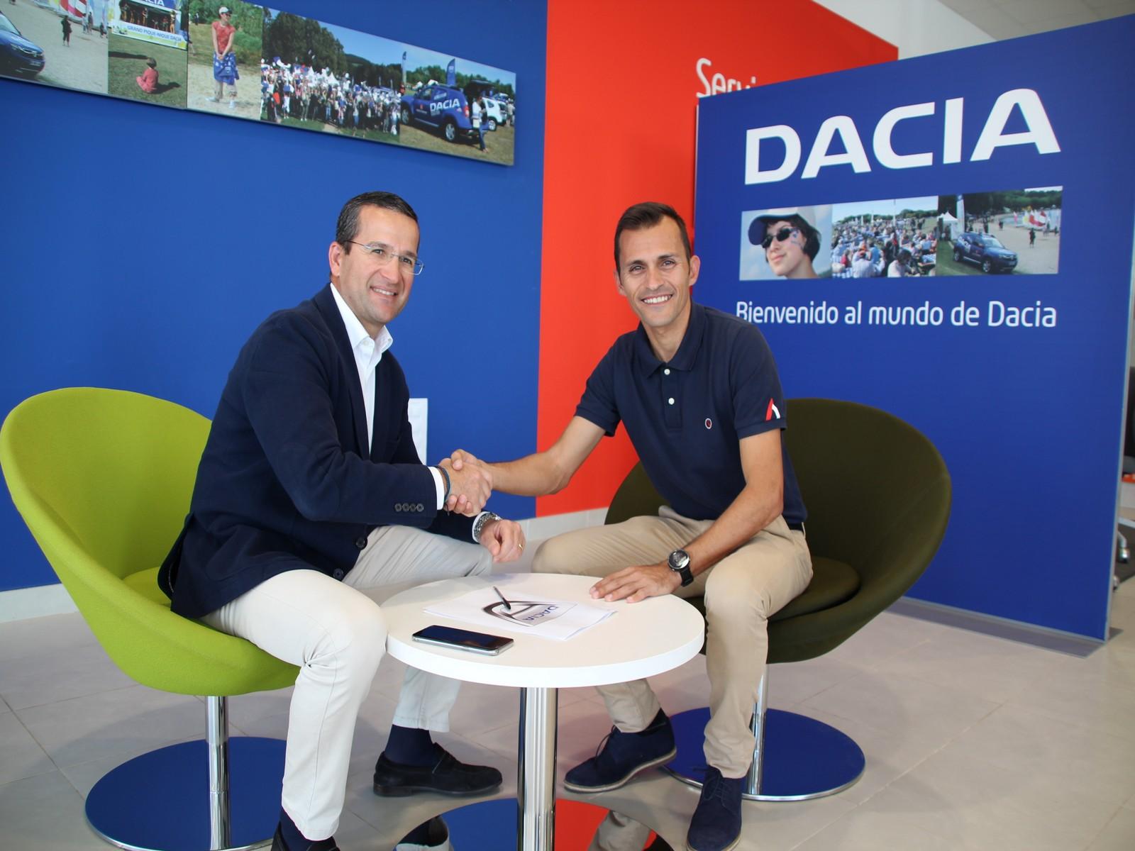 Dacia patrocinador oficial de la Disco Night Urban Race Ciudad de Arrecife