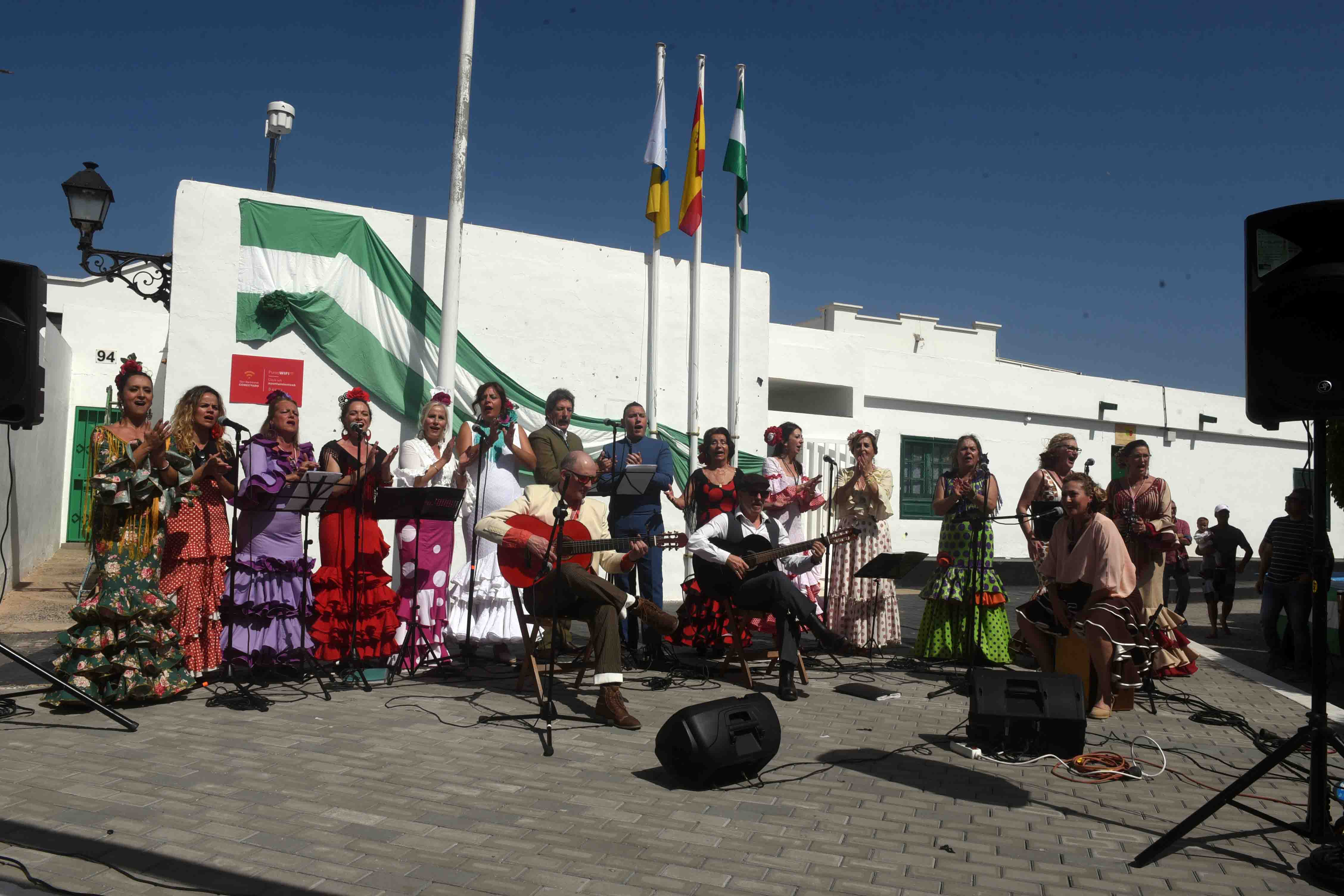 Celebrado el Día de Andalucía en Playa Honda