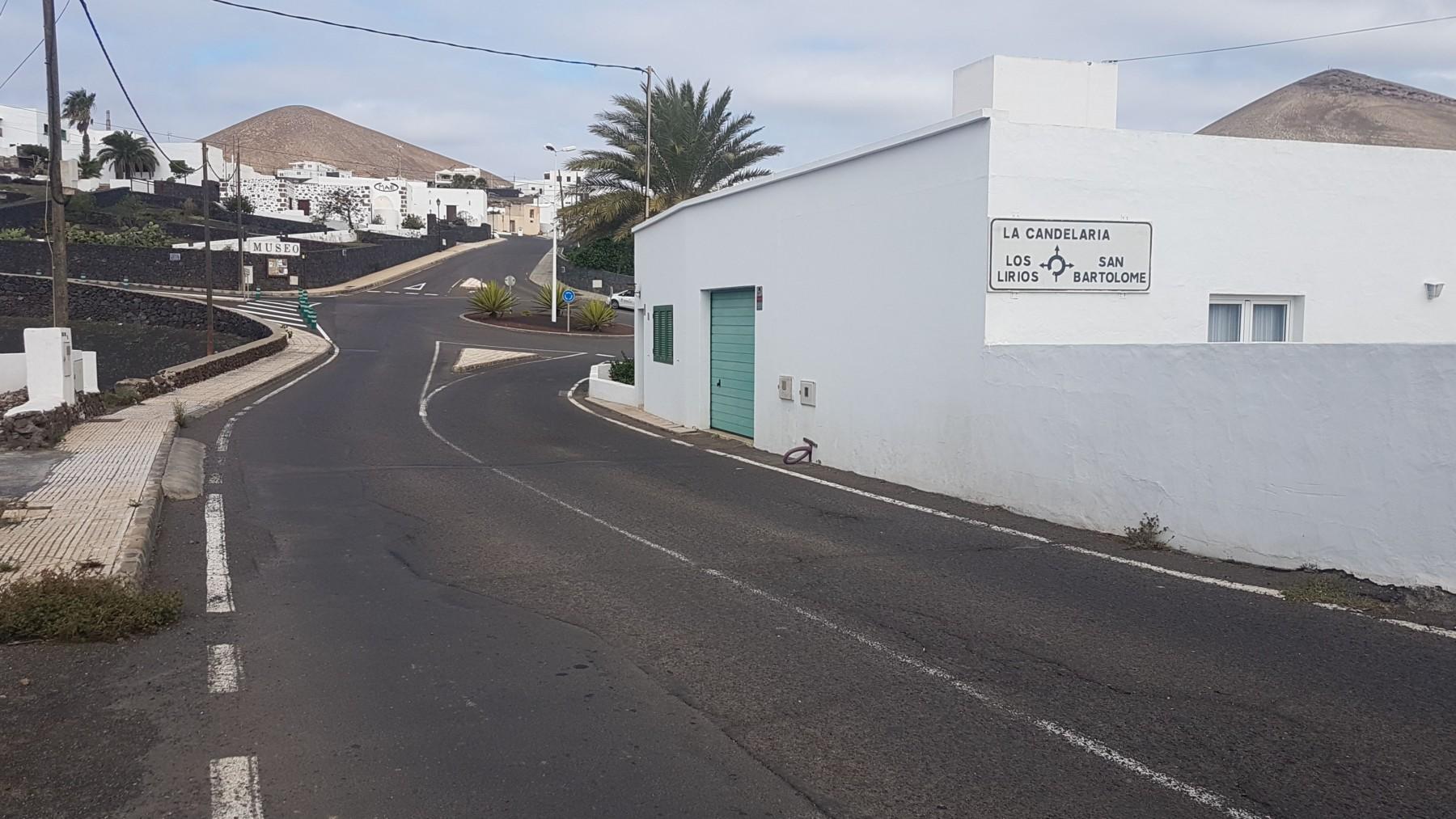 El Cabildo de Lanzarote anuncia el comienzo de las obras de adecuación de los accesos al pueblo de Tías