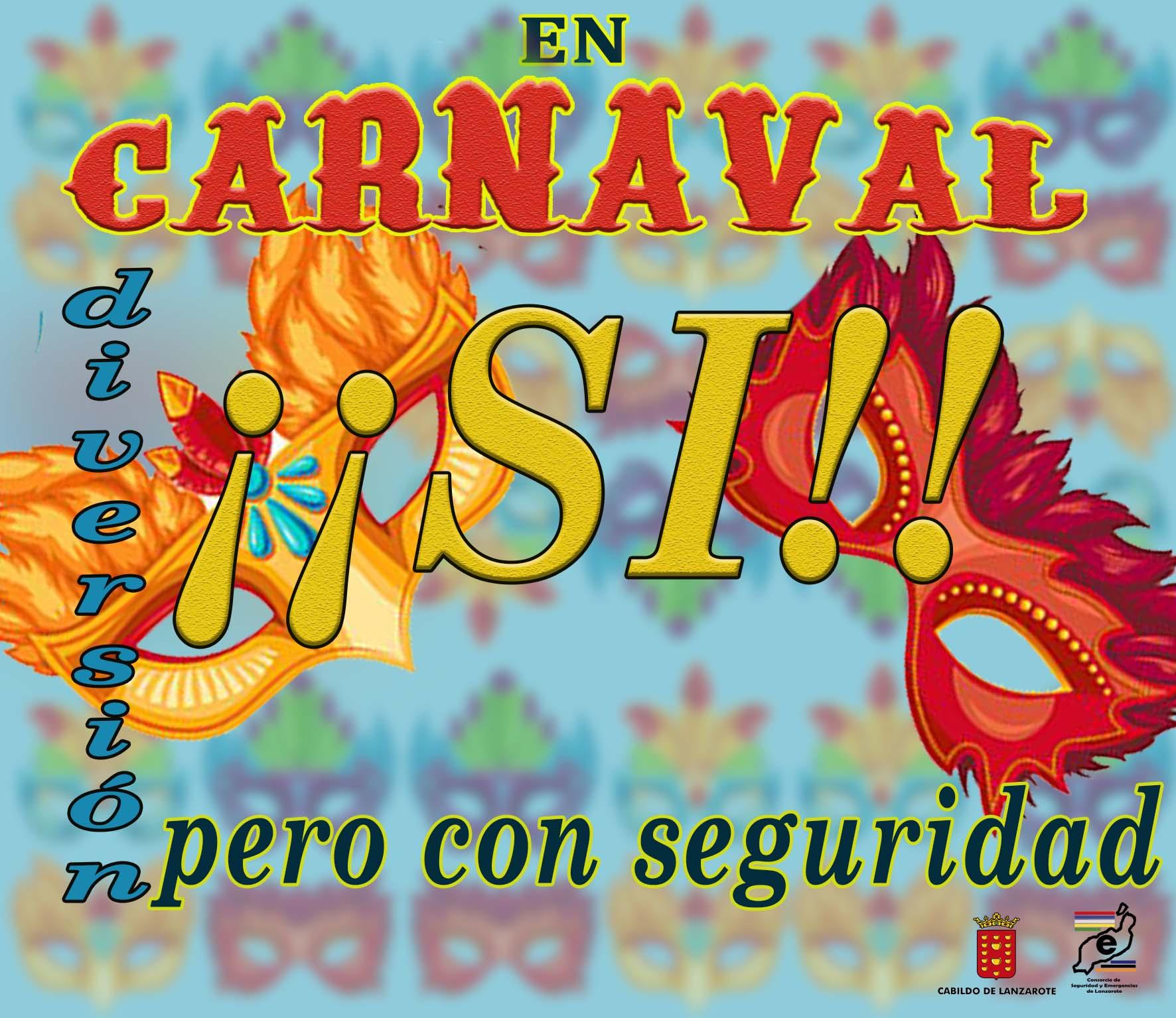 El Consorcio de Seguridad y Emergencias lanza una campaña en Carnavales enfocada a la prevención de las agresiones sexuales