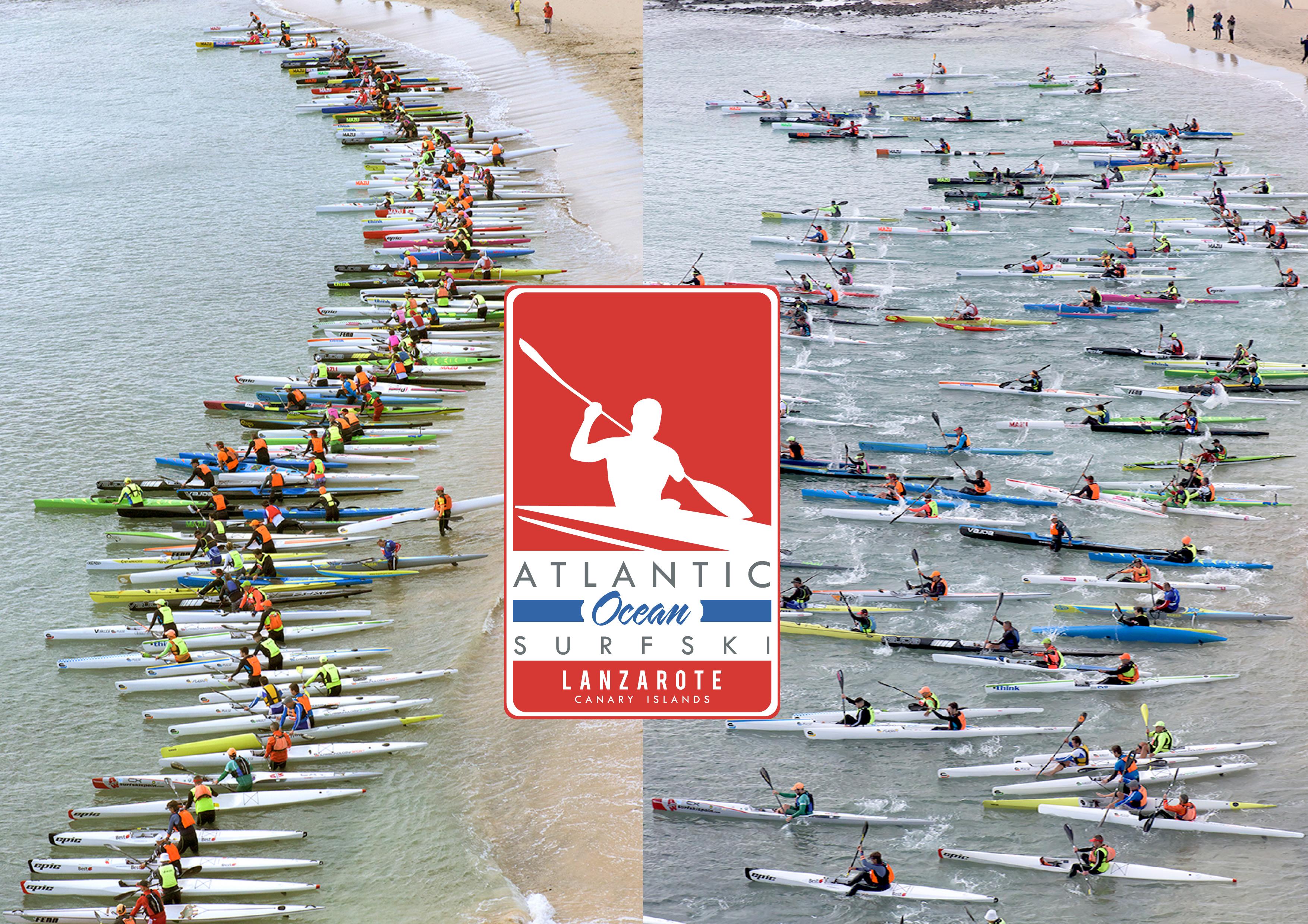 La Atlantic Ocean Surfski celebra su tercera edición en Lanzarote