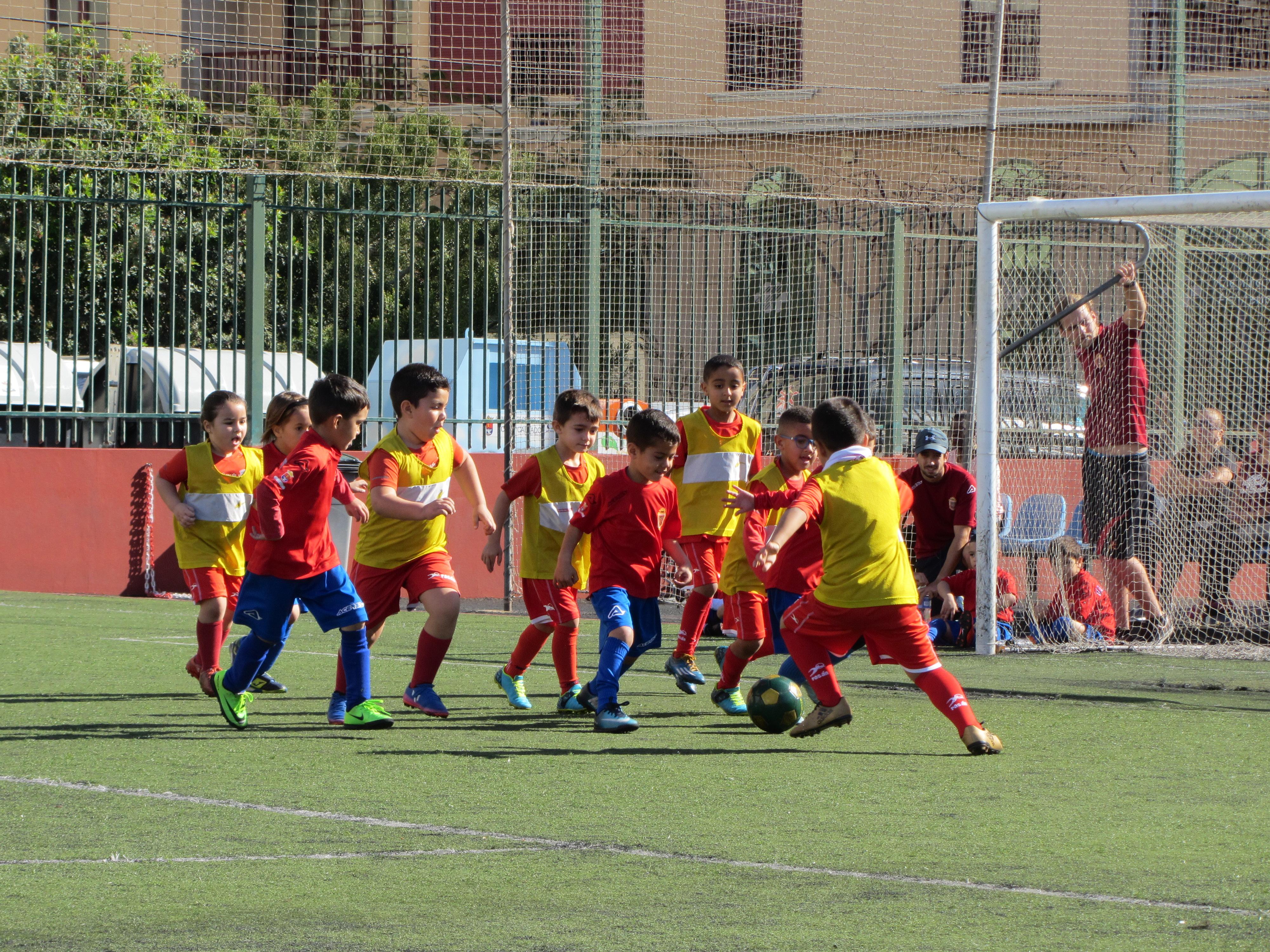 El Torneo de Fútbol Pre-Bejamín de Arrecife contará con la participación de más de 350 niños