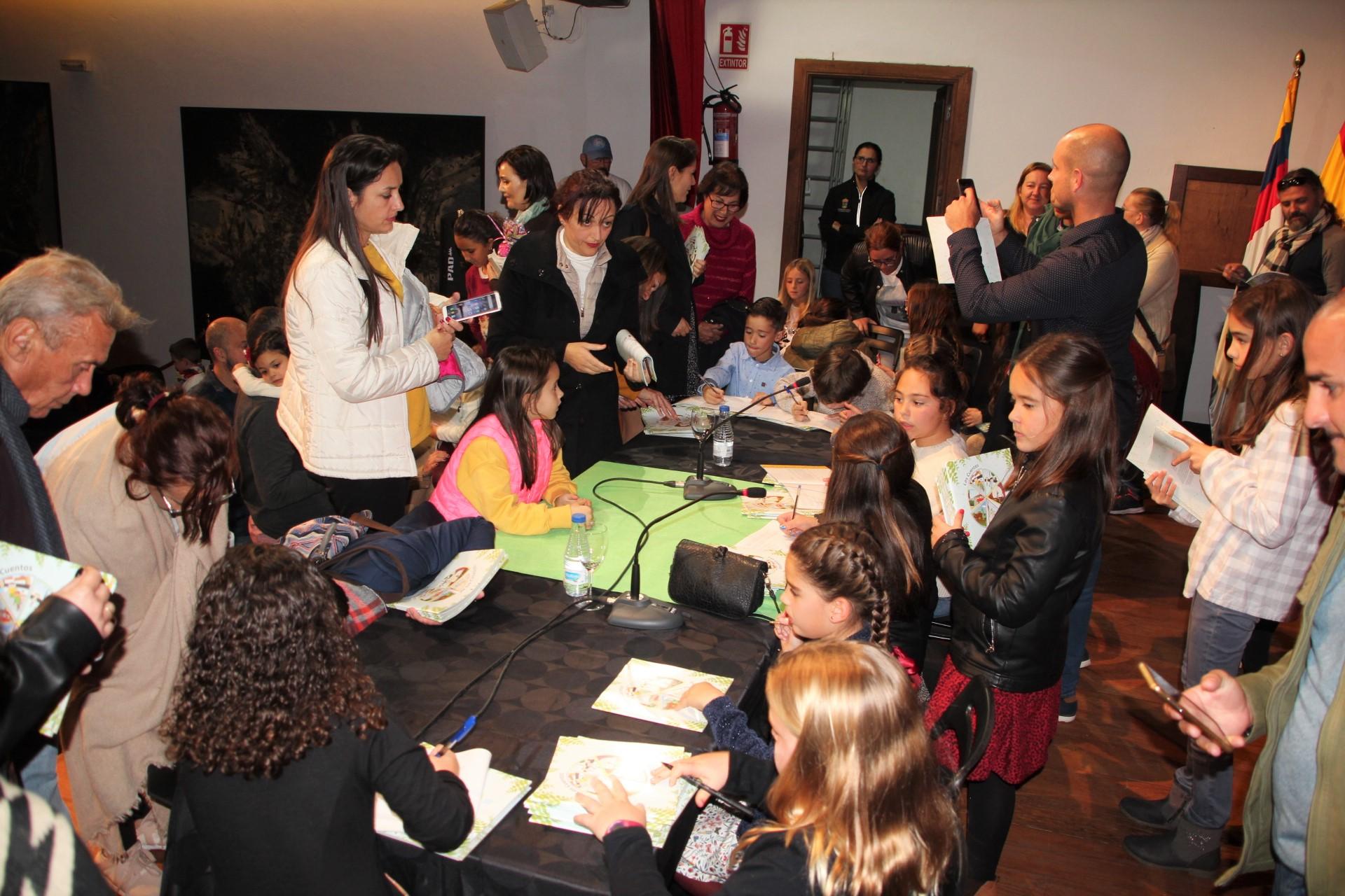 Yaiza presume de una treintena de jovencísimos escritores