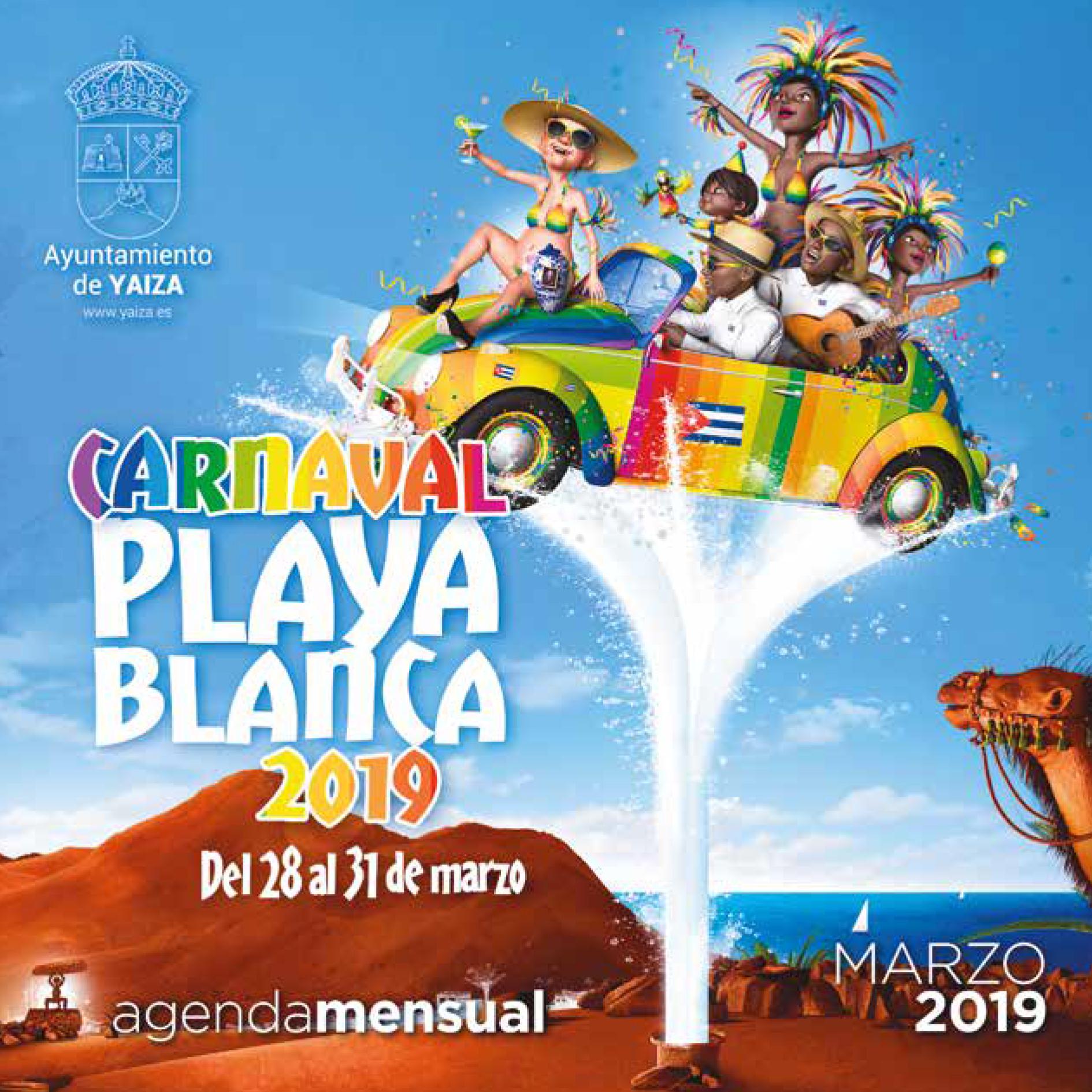 Programación Carnaval de Playa Blanca – Del  28 al 31 de Marzo