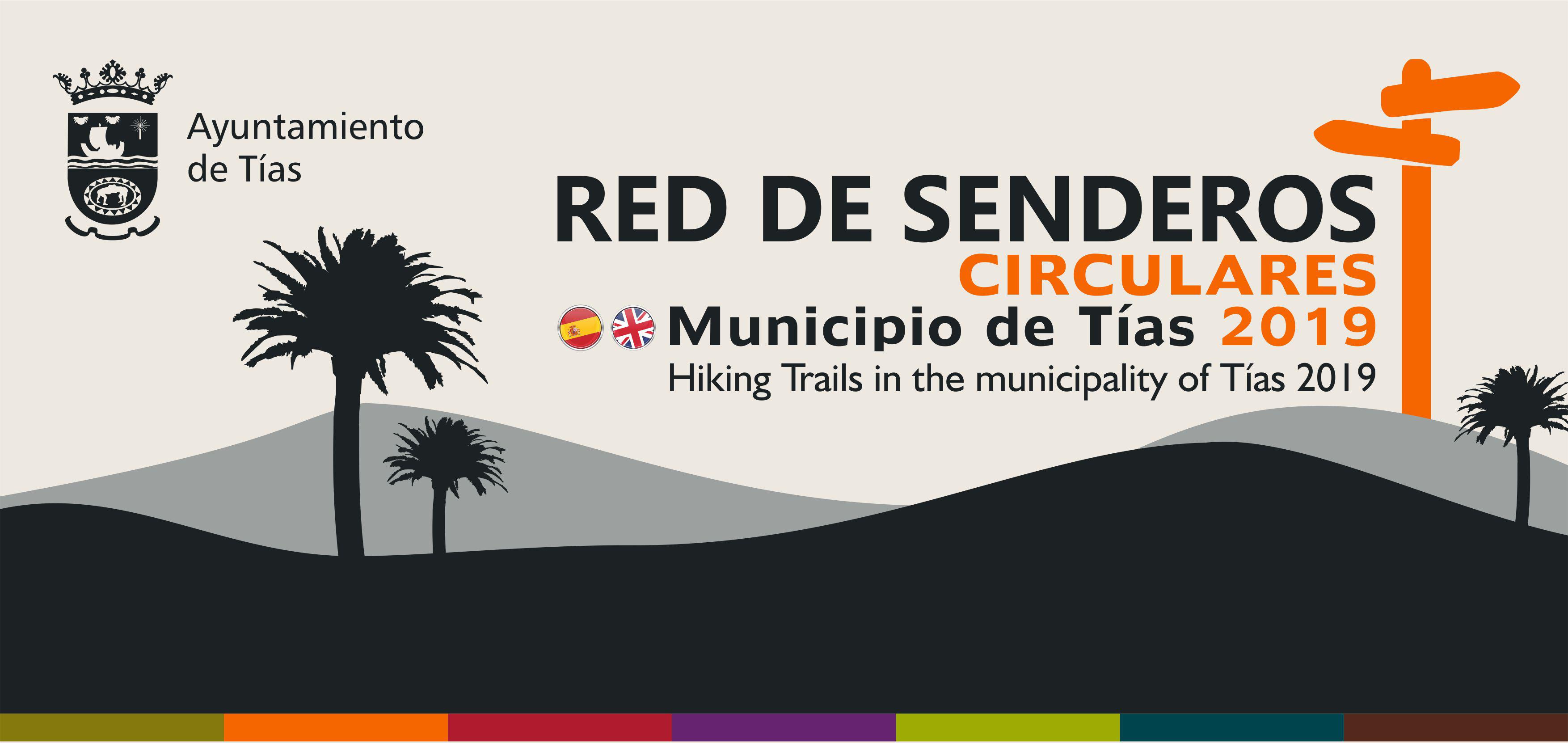 Red de Senderos del municipio de Tías 2019