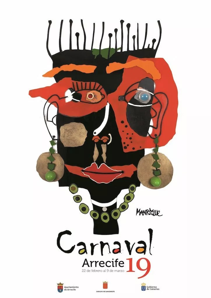Programa Carnaval Manriqueño de Arrecife 2019 – Del 22 de febrero al 9 de marzo