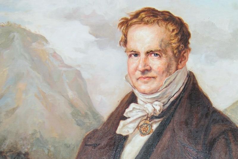 Charla: Alexander von Humboldt y su visión holística de la Naturaleza en el viaje canario-americano