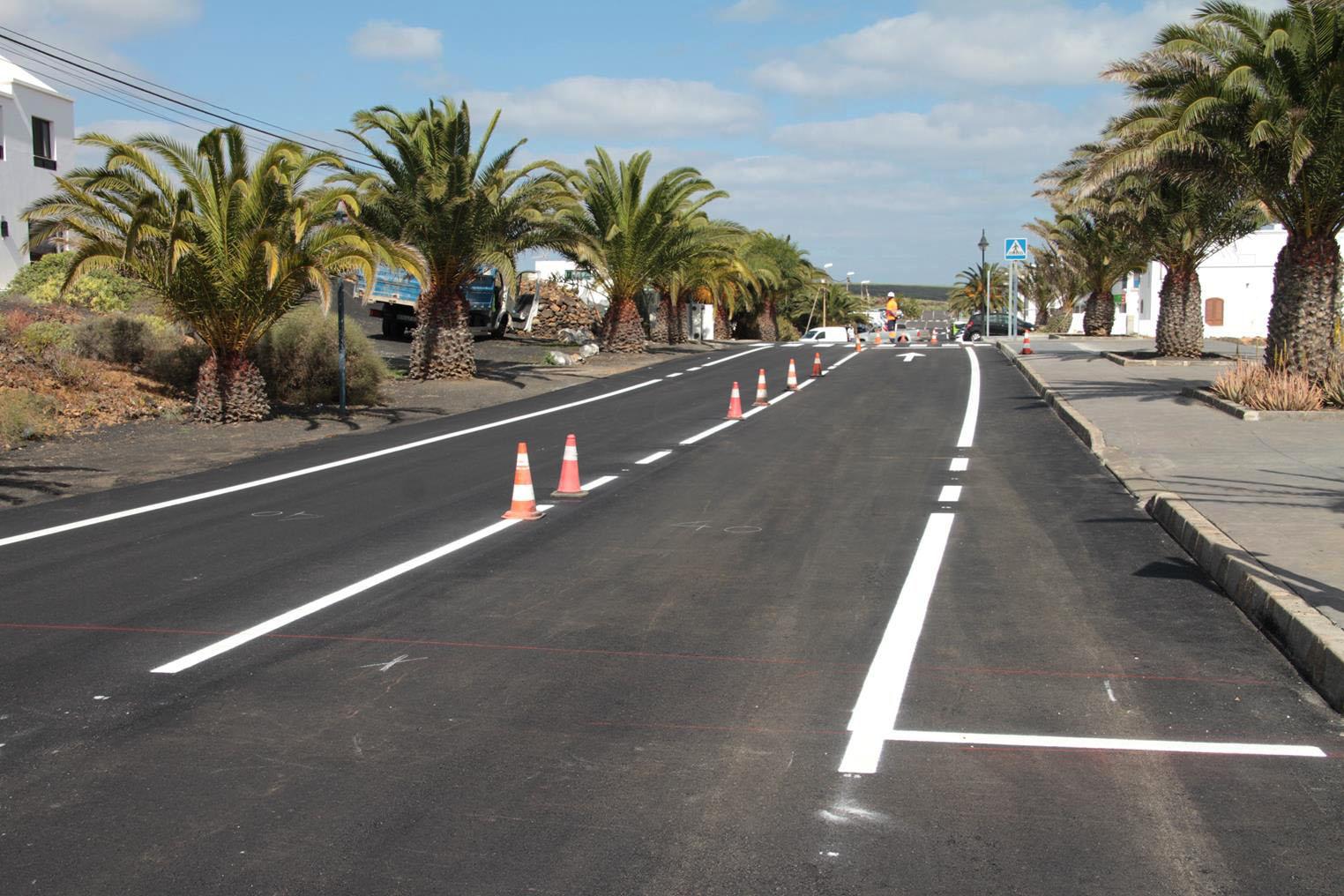 El Cabildo de Lanzarote rehabilita varias calles principales y conexiones de acceso al núcleo turístico y poblacional de Punta Mujeres con una inversión total superior a los 550.000 euros
