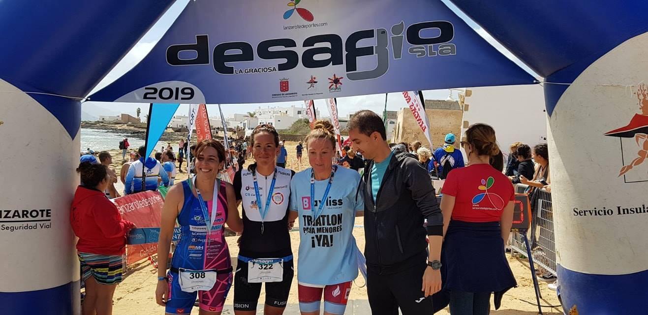 El Bayliss Multisport pide un triatlón para niños en Lanzarote