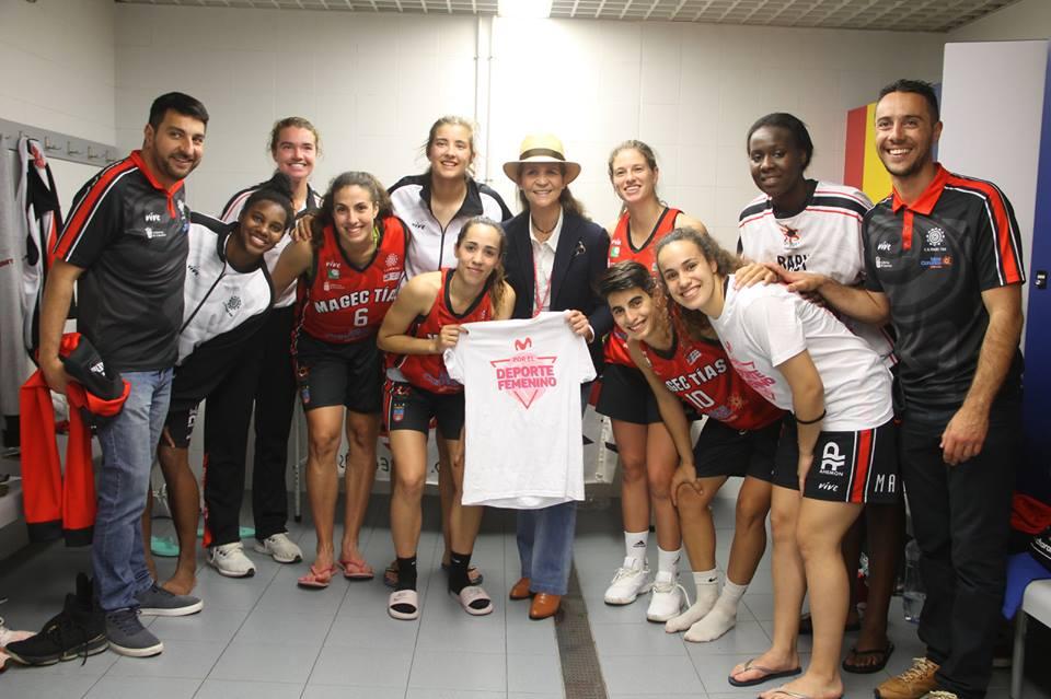 El Ayuntamiento de Tías felicita al Magec Tías por hacer historia en el deporte femenino