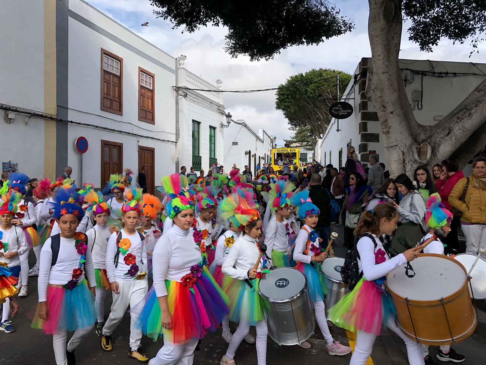 El Ayuntamiento organiza por tercer año consecutivo el pasacalle de la inclusión
