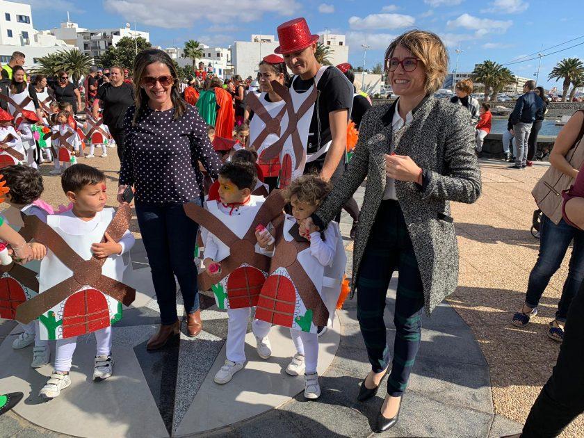 1.850 escolares protagonizan hoy el Pasacalles del Carnaval Arrecife 2019