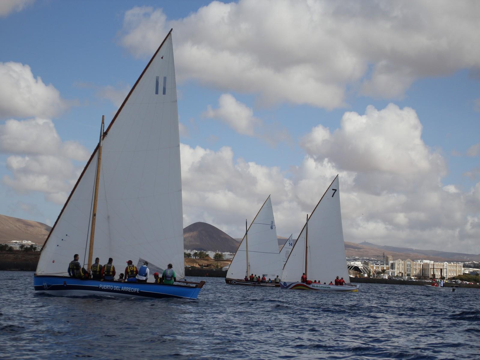 El Isla de Lanzarote gana la segunda regata de la Liga Insular de 8,55 Metros