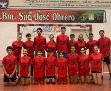 El CB San José Obrero clausura su I Campus de Semana Santa de Balonmano