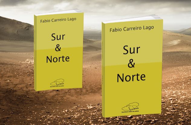 """Fabio Carreiro Lago rinde homenaje a Lanzarote y Galicia en su nuevo libro """"Sur & norte"""""""