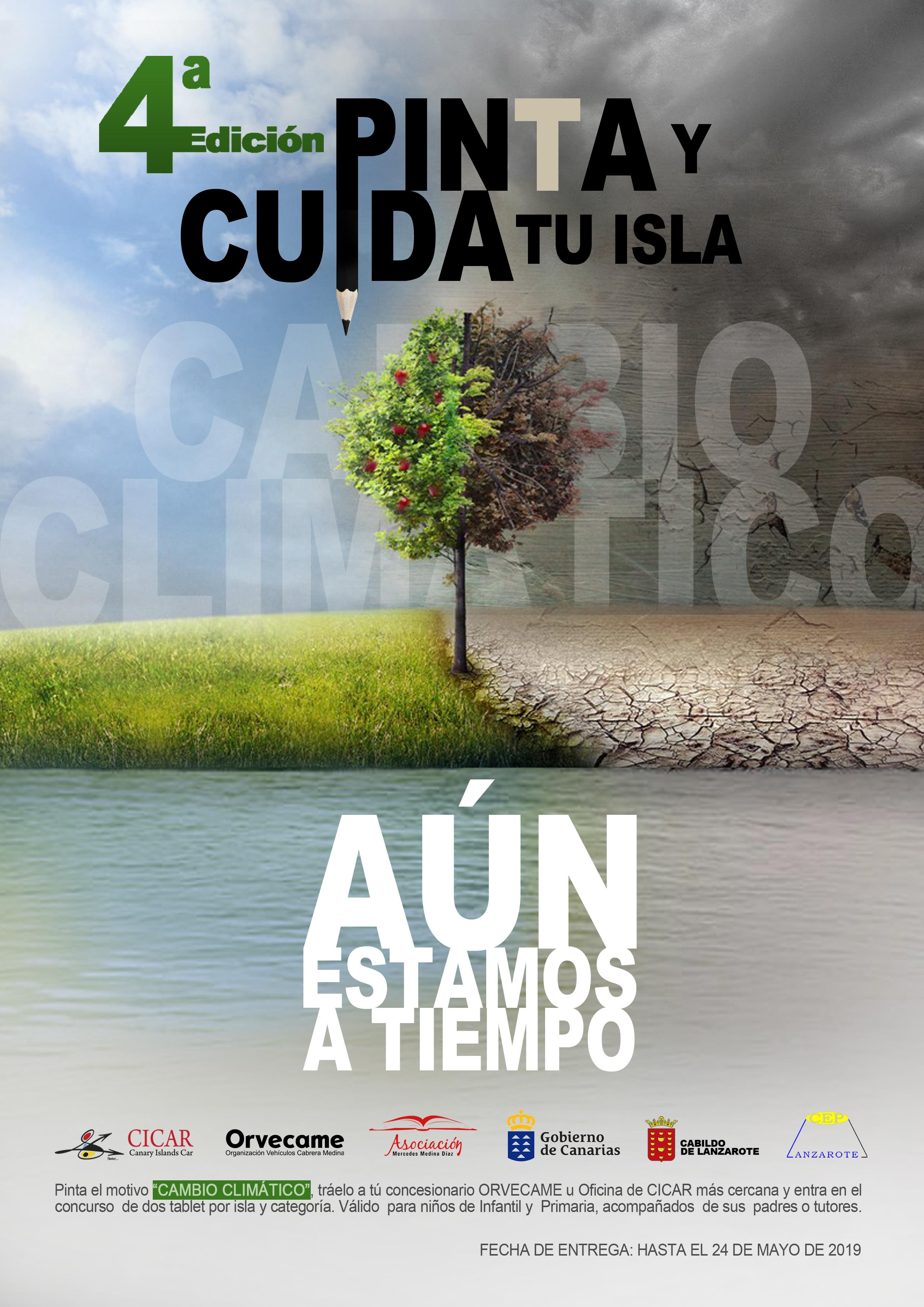 Presentación de la IVª edición del concurso de dibujo infantil 'Pinta y cuida tu isla'