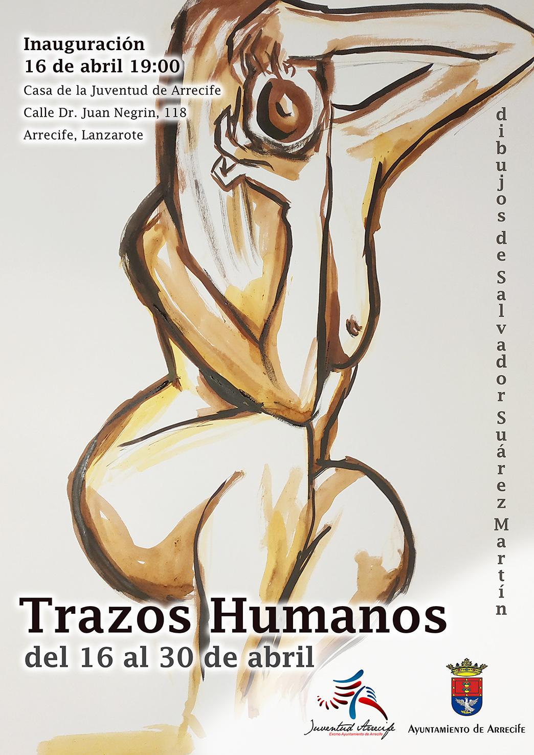 """""""Trazos Humanos"""" en la Casa de la Juventud"""