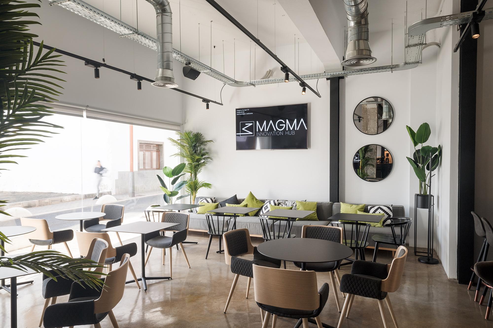 Magma, un espacio de coworking único con la última tecnología.