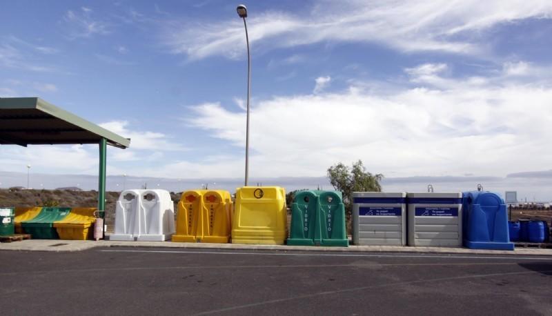Los Puntos Limpios de Lanzarote cerrarán mañana miércoles con motivo de la festividad del 1 de mayo
