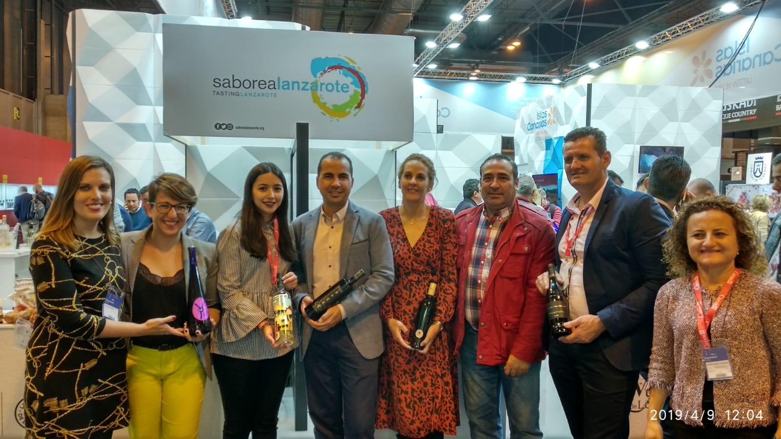 Saborea Lanzarote asiste por séptimo año consecutivo al 'Salón de Gourmets' con una selección de productos autóctonos de calidad