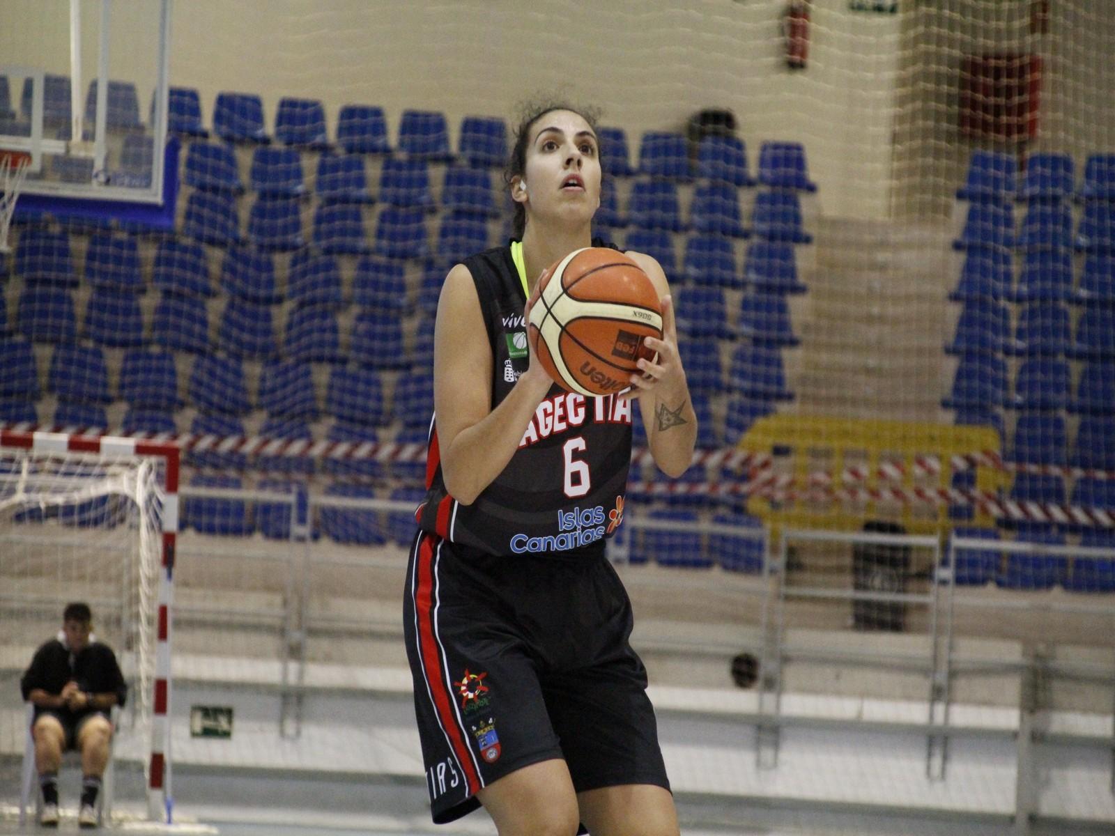 Yaiza García nombrada MVP de la jornada 25 de la Liga Femenina 2