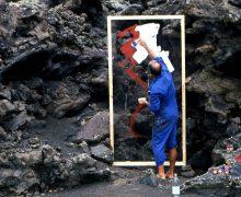 La Casa Amarilla alberga la parte más medioambiental de la exposición 100 años: Lanzarote y César
