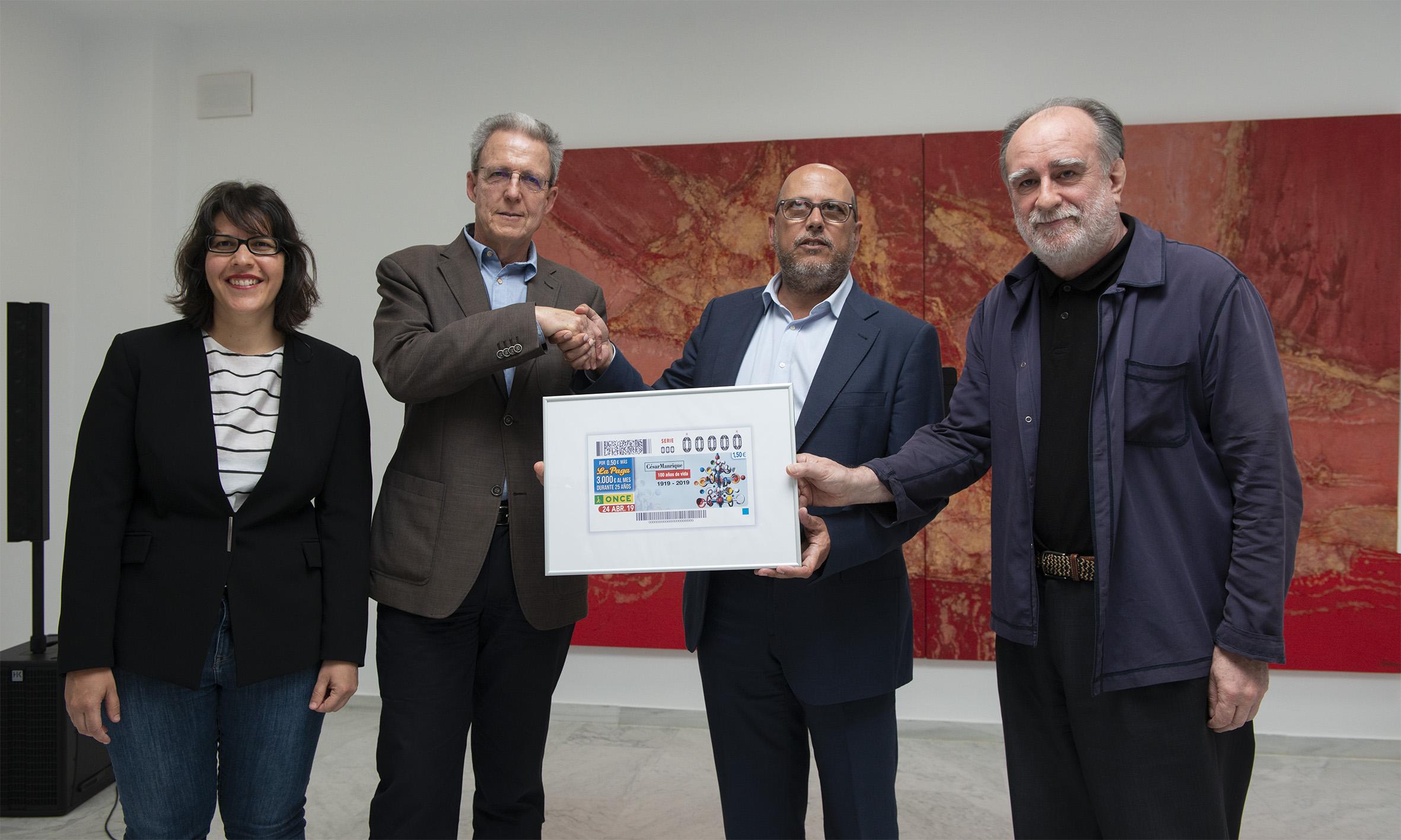 El cupón de la ONCE homenajea a César Manrique en el centenario de su nacimiento