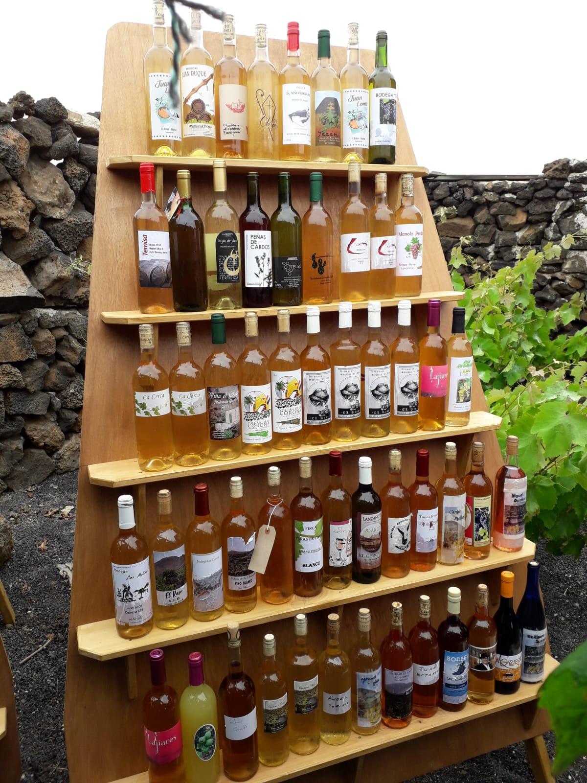 Éxito de participación con 117 vinos artesanales en el  X Encuentro de la Asociación de Amigos del Vino y Queso de Lanzarote