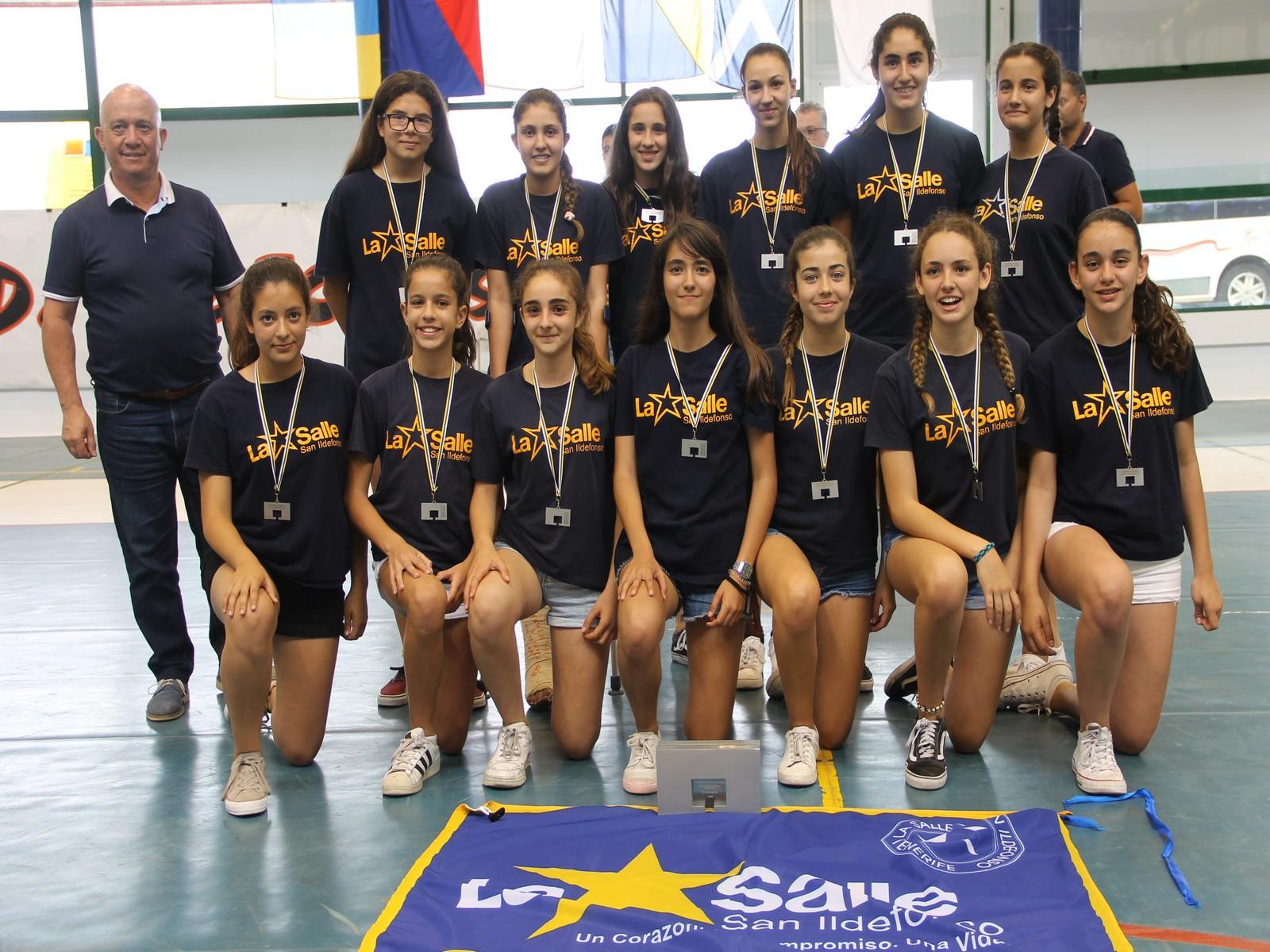 Spar Gran Canaria y CC Atlántico Vecindario SLB se alzan con el Campeonato de Canarias Preinfantil