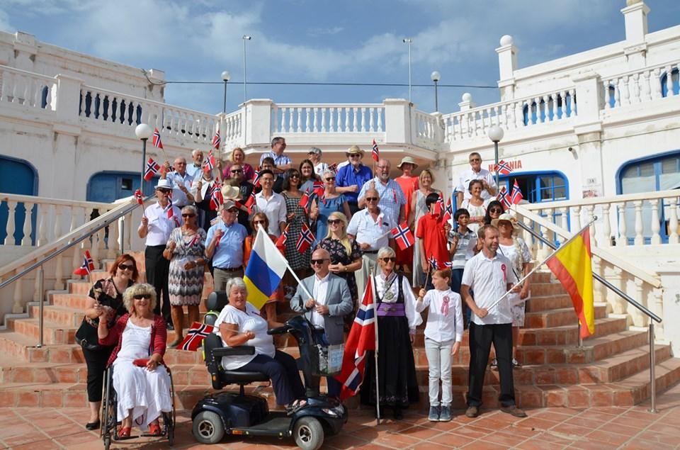 La Comunidad noruega celebró en Puerto del Carmen el Día Nacional de Noruega