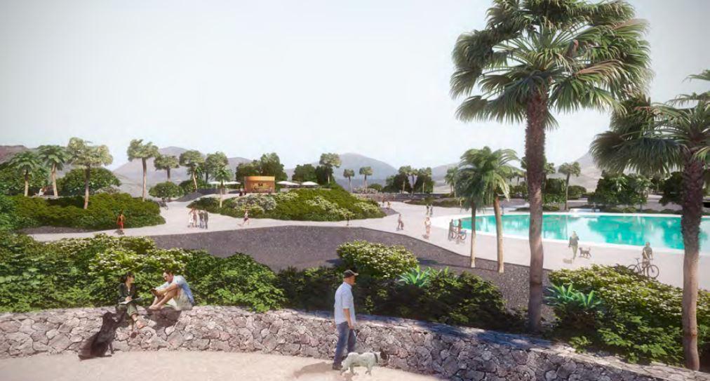 El COALZ ya ha supervisado el proyecto del Parque Urbano de Playa Honda