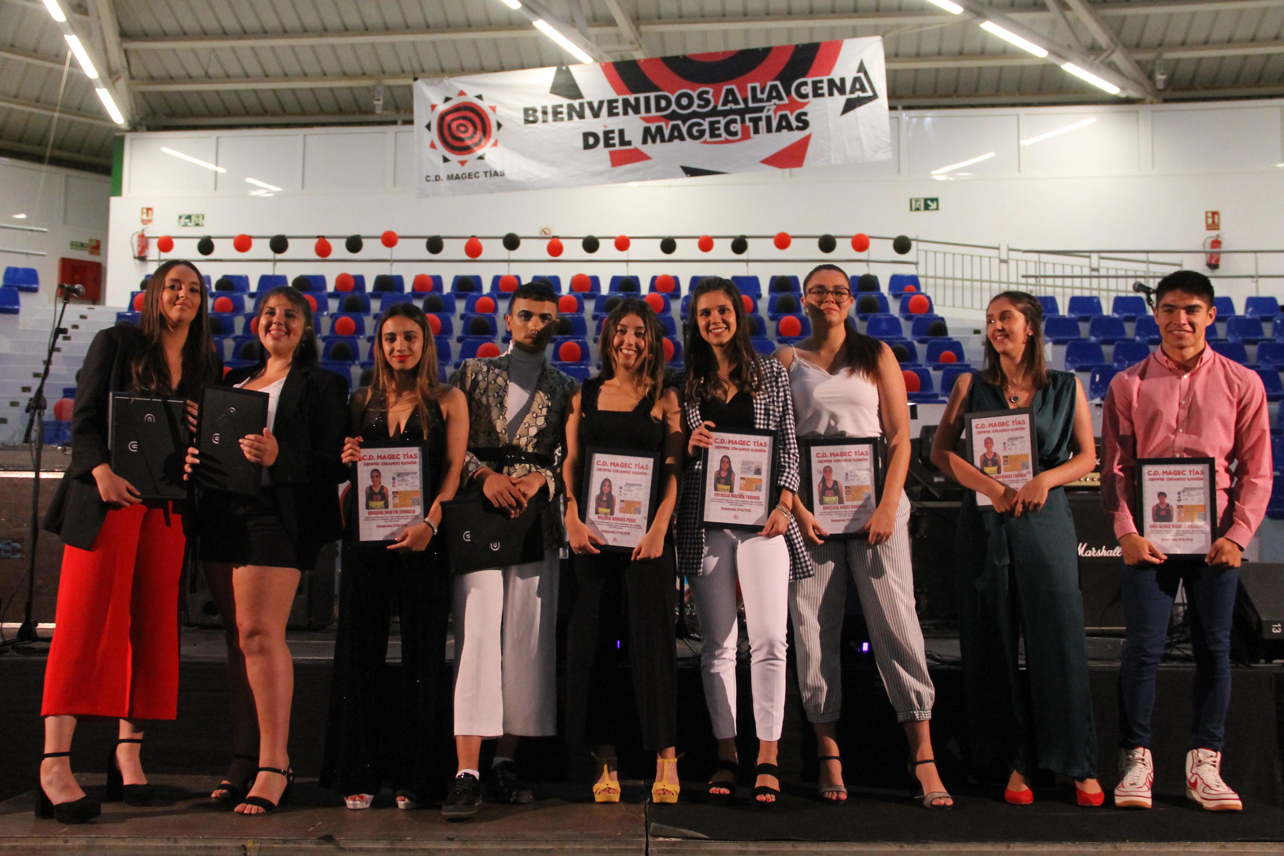 El CD Magec Tías clausura la temporada 2018/2019 con su tradicional cena
