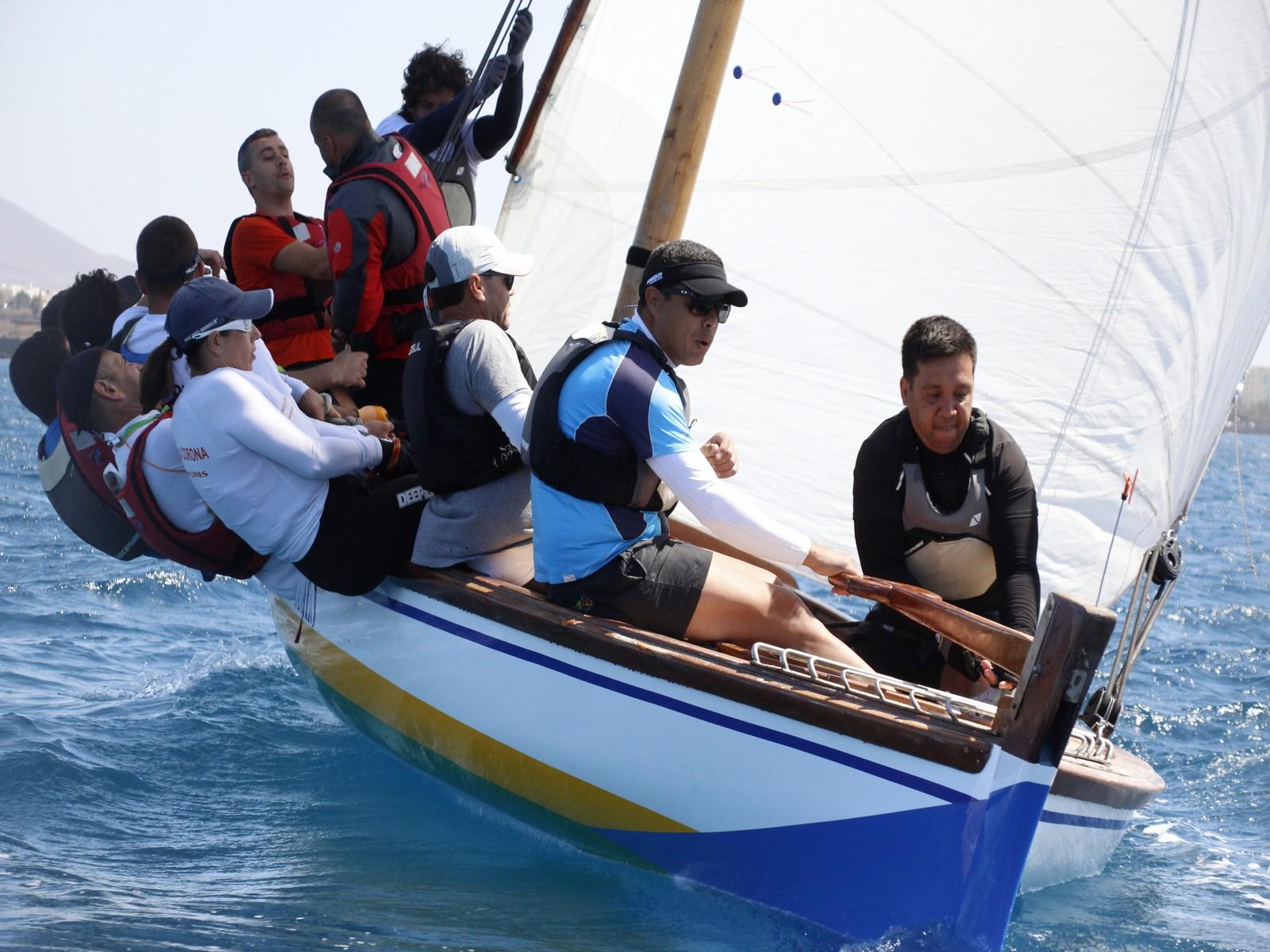 El viento podría dificultar la sexta regata de la Liga Insular de 8,55 Metros