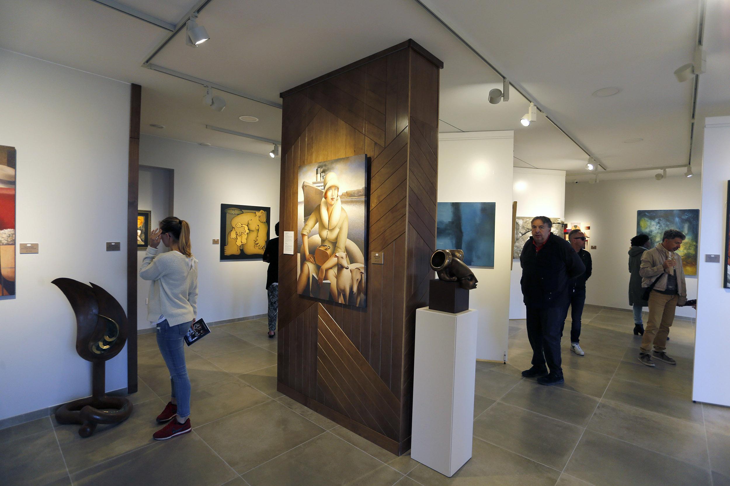 Lanzarote Art Gallery estrena espacio de exposiciones en Costa Teguise