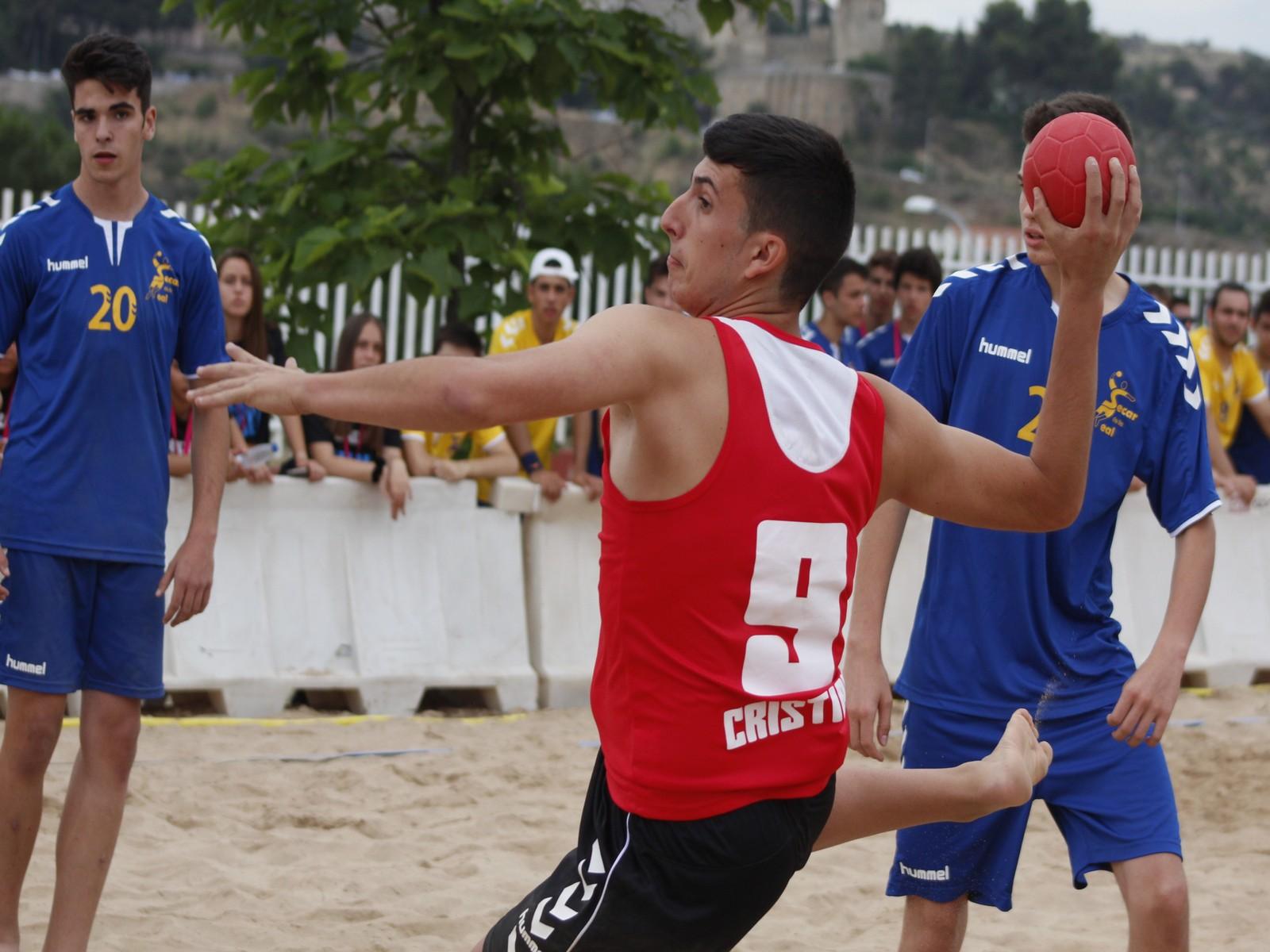 5 jugadores del San José Obrero en la Selección Canaria de Balonmano Playa