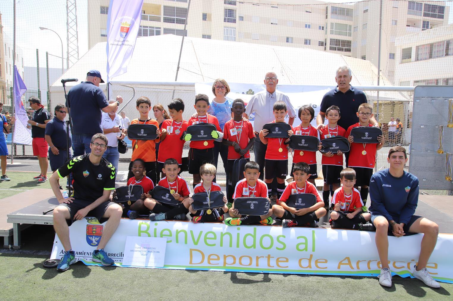 Gran clausura del Torneo Pre-Benjamín de Fútbol Ciudad de Arrecife 2019
