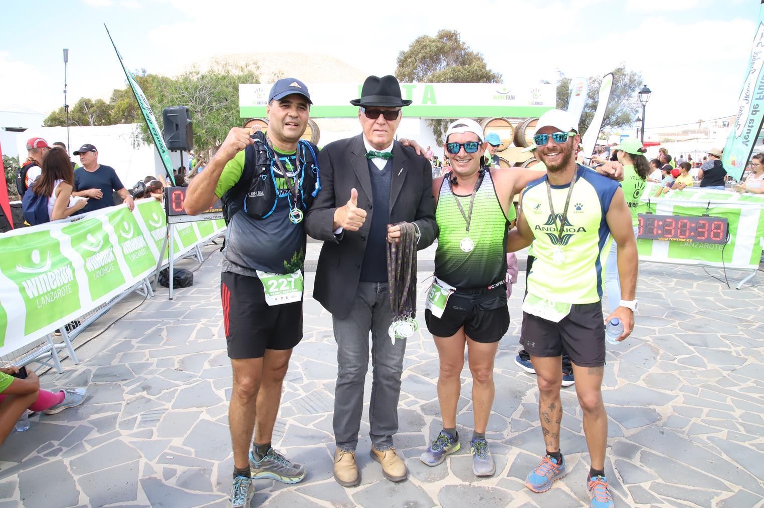 El Cabildo muestra su agradecimiento a las personas y entidades que han contribuido al éxito de la 'XI Lanzarote Wine Run & Traditional Cuisine Festival'