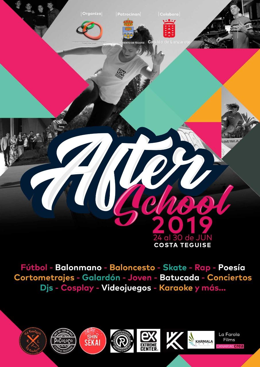 Costa Teguise acoge la presentación de la Semana Joven After School