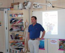 El Cabildo de Lanzarote colabora con los centros educativos en la impartición de charlas sobre nutrición e higiene postural
