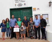 El colegio de Tahíche, premiado por su iniciativa en educación patrimonial