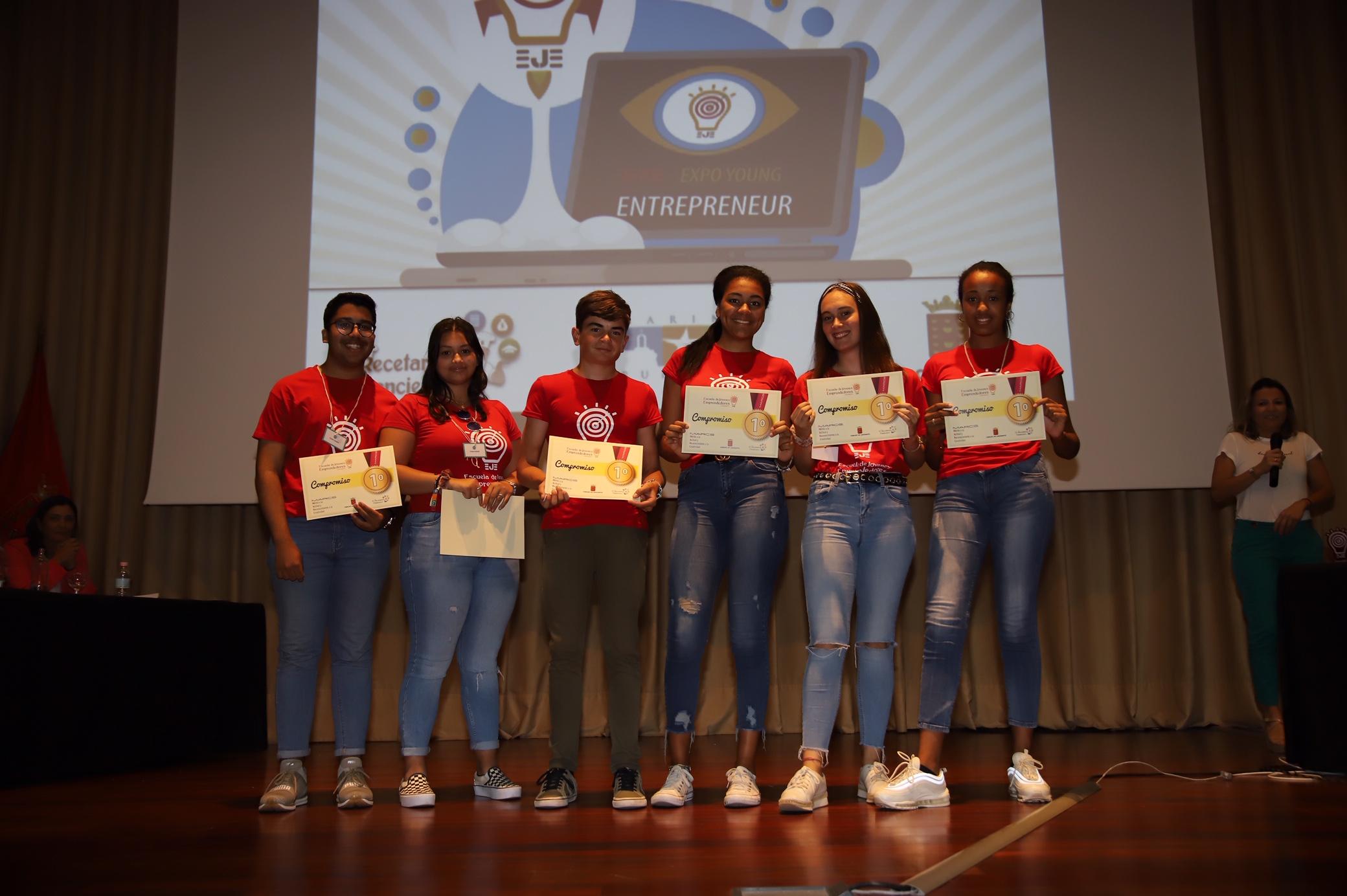 El Cabildo de Lanzarote celebra la EYE- Expo Young Entrepreneur de la Escuela de Jóvenes Emprendedores de Lanzarote