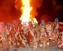 El CSC La Tegala acoge una exposición sobre los 25 años de tradición de los Diablos en Haría
